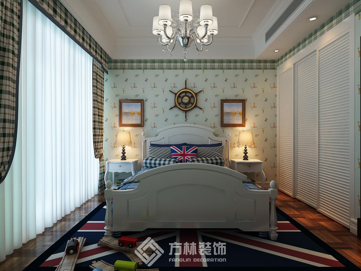 中海盛京府 欧式风格 别墅 卧室图片来自方林装饰在方林中海盛京府270平欧式风格的分享
