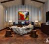 大唐别墅300平美式风格设计