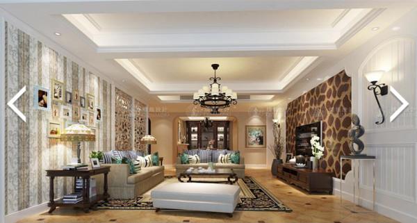 汇丰豪轩350平别墅户型装修欧式风格设计方案展示,腾龙别墅设计师周灏作品,欢迎品鉴!