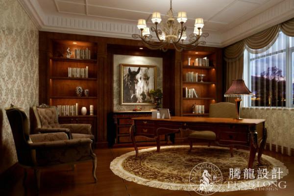 保利叶语270平别墅户型装修欧式新古典风格设计方案展示,腾龙别墅设计师成建飞作品,欢迎品鉴!