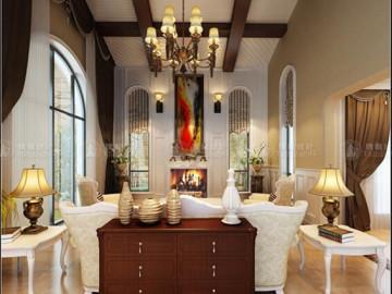 长泰西郊别墅欧美风格设计
