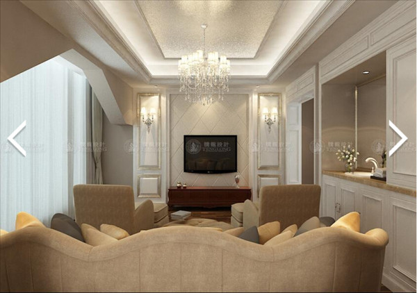泗泾颐景园300平别墅户型装修欧式风格设计方案展示,腾龙别墅设计师成建飞作品,欢迎品鉴!