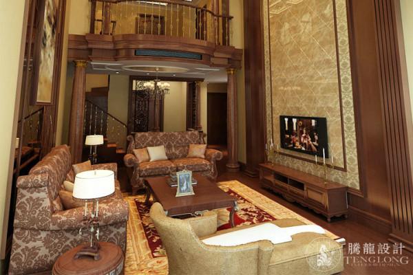 万源城250平别墅户型装修美式风格设计方案展示,腾龙别墅设计师成建飞作品,欢迎品鉴!