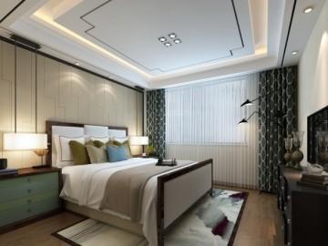 奢华美式别墅中央空调装修案例