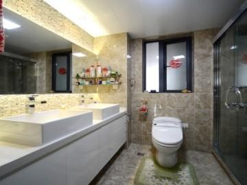 中式简约家用中央空调装修案例