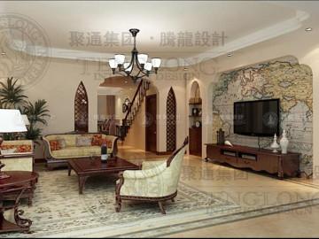 福运马洛卡别墅美式风格设计
