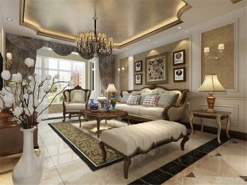 欧式风格 | 珑著 130㎡三居室