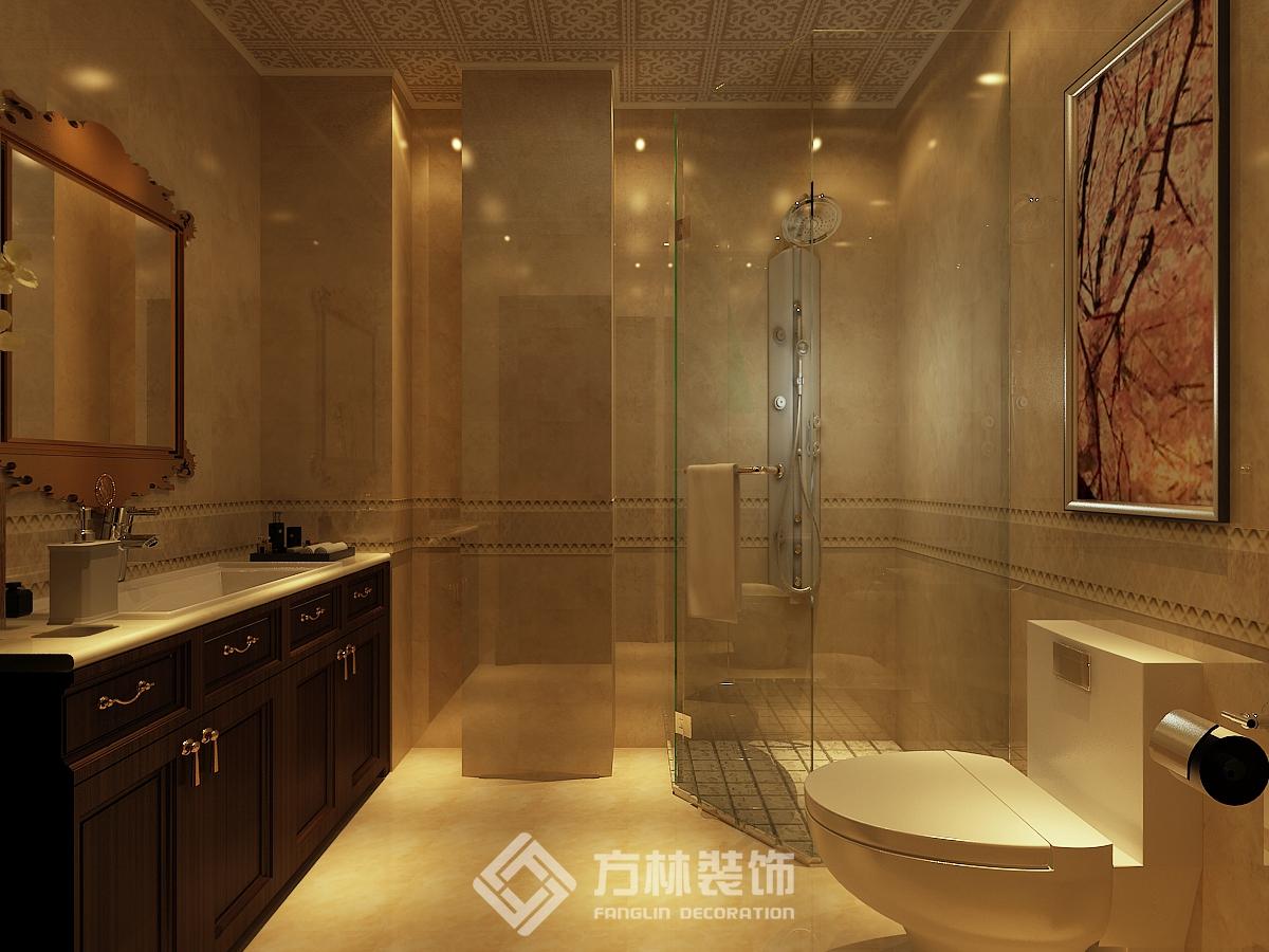 中海盛京府 欧式风格 别墅 卫生间图片来自方林装饰在方林中海盛京府270平欧式风格的分享