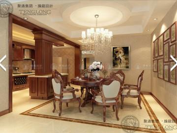 曹安景林苑200平现代风格设计