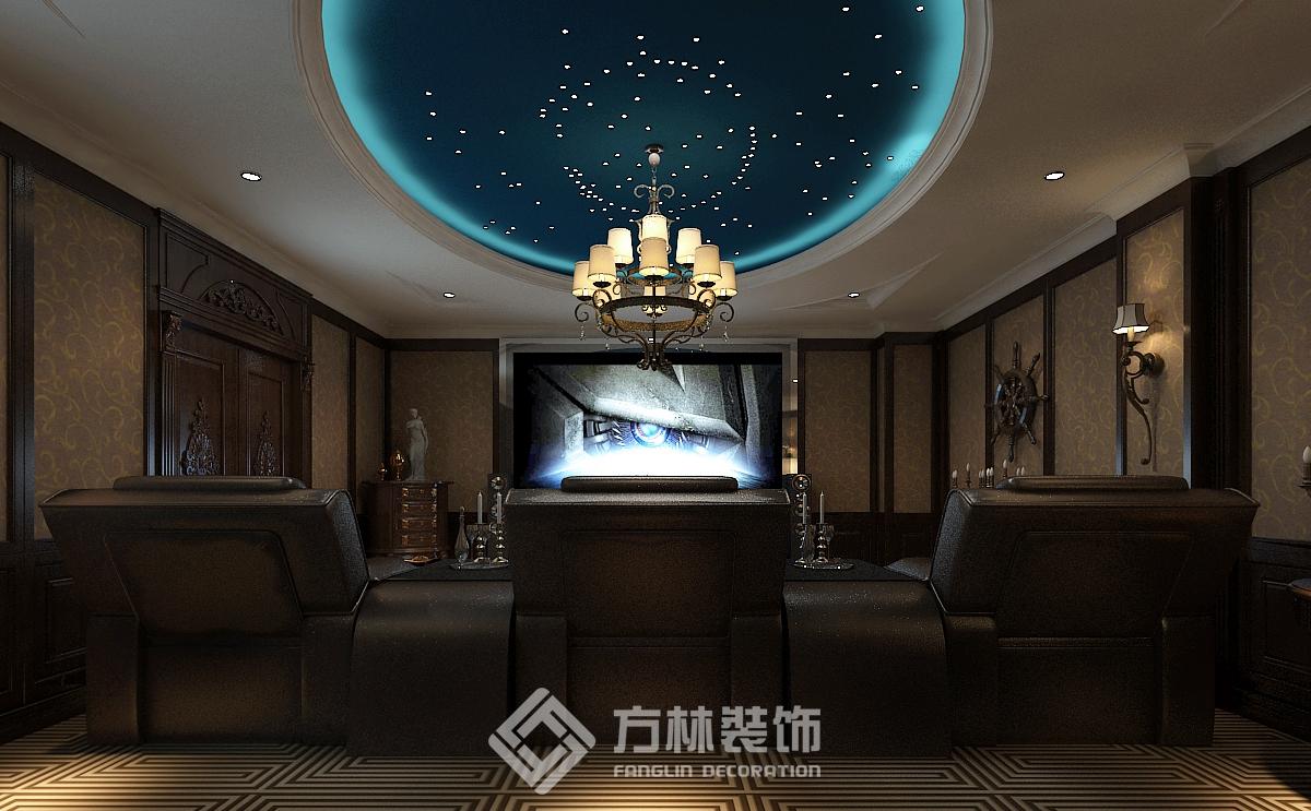 中海盛京府 欧式风格 别墅 书房图片来自方林装饰在方林中海盛京府270平欧式风格的分享