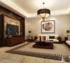 新宏国际300平别墅户型装修新中式风格设计方案展示,腾龙别墅设计师周灏作品,欢迎品鉴!