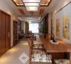 中海城130平新中式风格效果图