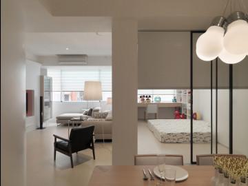 82平米 简约设计三室两厅