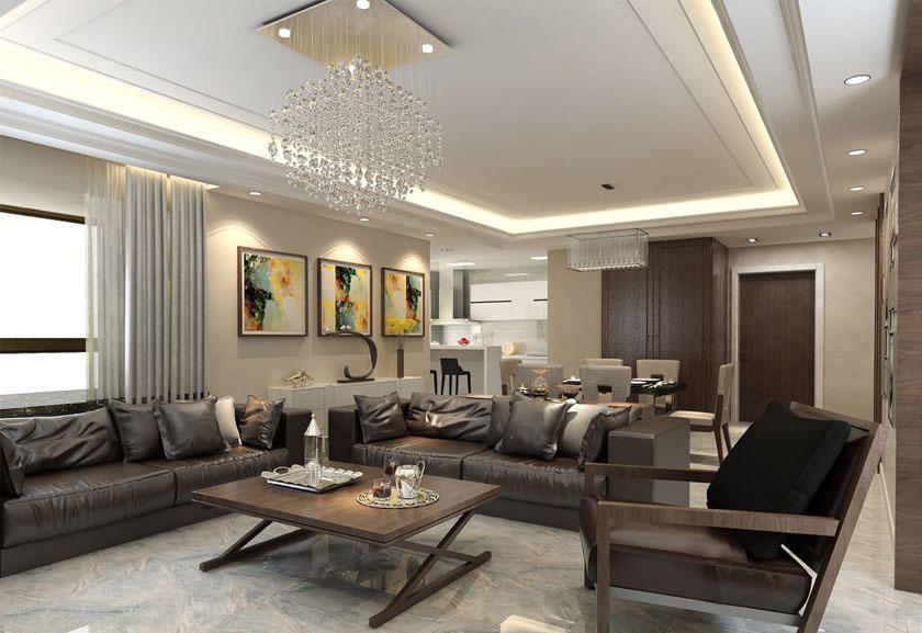 简约 欧式 三居 白领 收纳 80后 小资 客厅图片来自实创装饰百灵在港式案例 198平米装修的分享