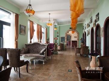 绿城百合咖啡馆酒吧装修案例