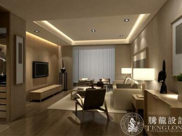 名士豪庭250平别墅装修设计