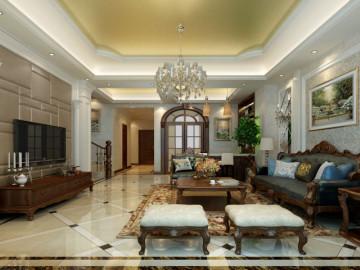 尚东鼎别墅美式风格设计
