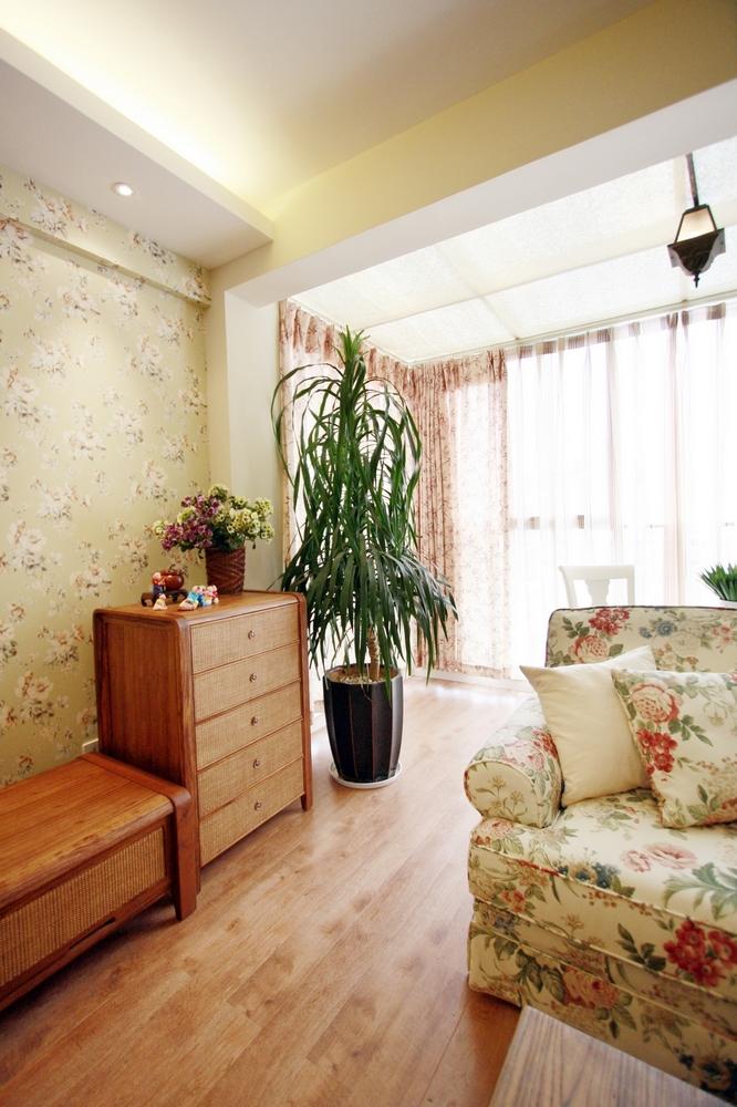 客厅图片来自成都家和装饰在夕阳下的田园小家的分享