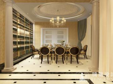 建德花园216平别墅欧式古典设计