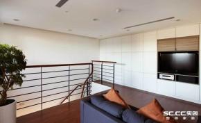 日式 简约 客厅 别墅 旧房改造 书房 楼梯 三层 其他图片来自实创装饰晶晶在200平日式简约小别墅翻新设计的分享