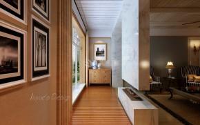 白领 小资 美式 鲁班装饰 设计案例 阳台图片来自陕西鲁班装饰公司在莱安逸辉-四居室-美式设计案例的分享