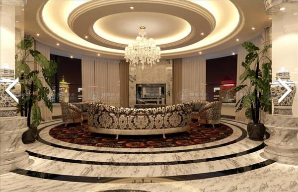绿地国际花园140平三房装修欧式新古典风格设计方案展示,腾龙别墅设计师沈聪作品,欢迎品鉴!