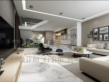 嘉宝梦之湾别墅现代风格设计