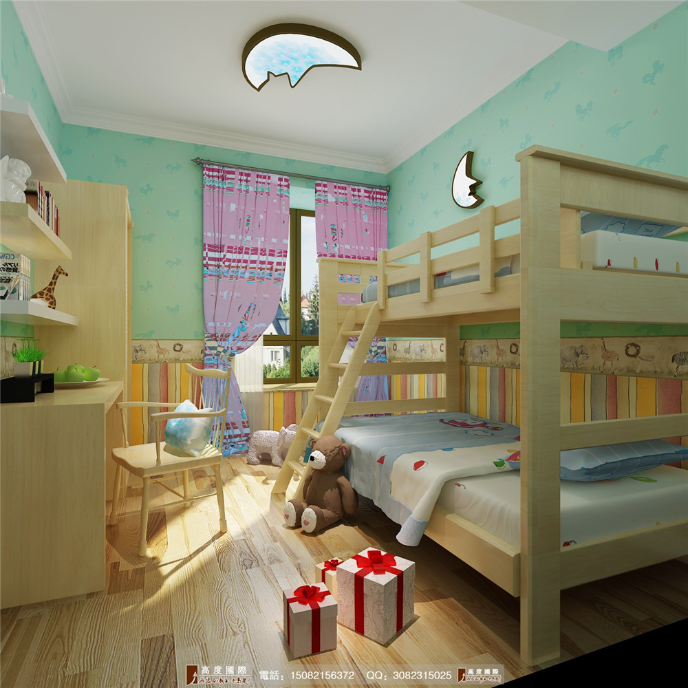 高度国际 成都装修 新房装修 别墅装修 儿童房图片来自成都高端别墅装修瑞瑞在欧式风格案例析.高度国际装饰的分享