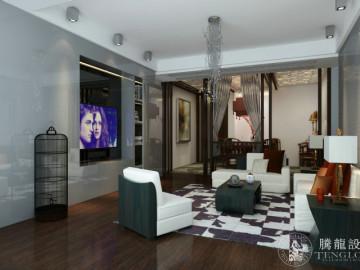 佳安公寓三房装修现代风格设计