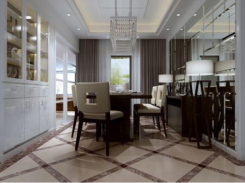 餐厅图片来自天津印象装饰有限公司在都市新居装饰案例赏析2015-10-16的分享
