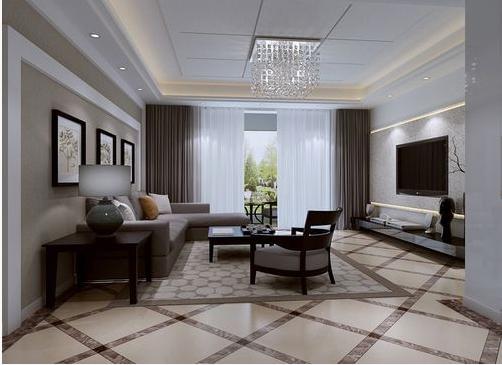 客厅图片来自天津印象装饰有限公司在都市新居装饰案例赏析2015-10-16的分享