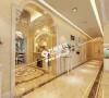 沈阳半岛公馆200平欧式风格玄关过廊案例