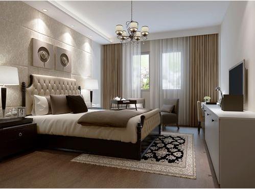 卧室图片来自天津印象装饰有限公司在都市新居装饰案例赏析2015-10-16的分享