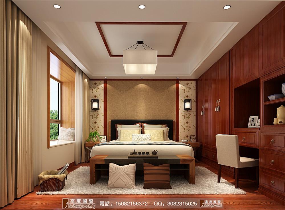 高度国际 成都装修 新房装修 别墅装修 卧室图片来自成都高端别墅装修瑞瑞在混搭风格案例.高度国际装饰的分享