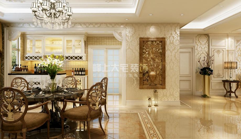 餐厅图片来自峰上大宅装饰长沙在东方大院-法式风格设计的分享