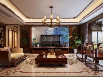 天字一号-四室200㎡-新中式风格