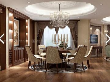 海琪园大户型美式风格设计