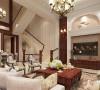 御沁园270平别墅简约美式设计