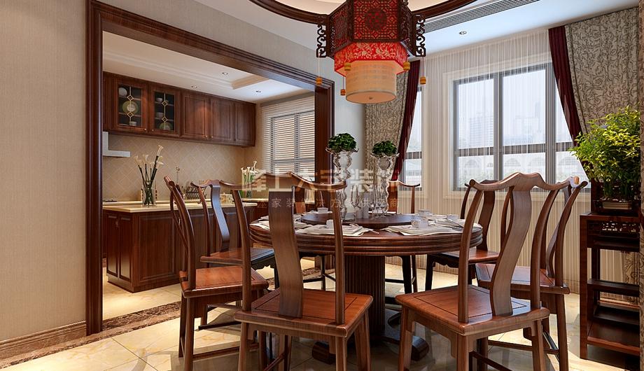 峰上大宅 餐厅图片来自峰上大宅装饰长沙在欧莱雅郡-中式、美式混搭的分享