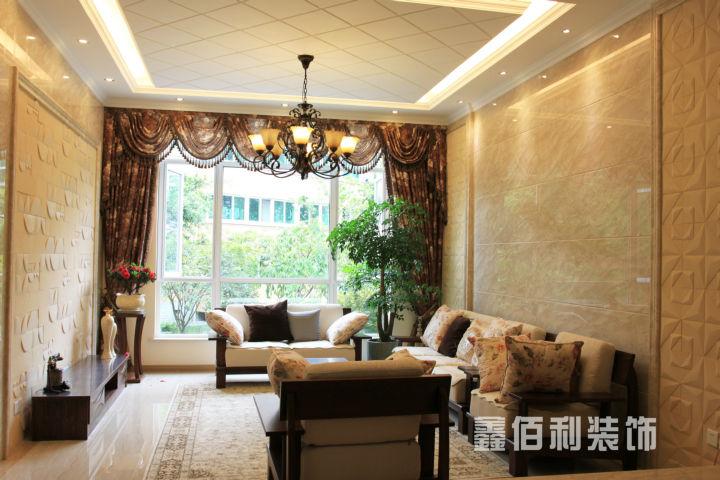 客厅图片来自cdxblzs在南城都汇 220平米 现代欧式 复式的分享
