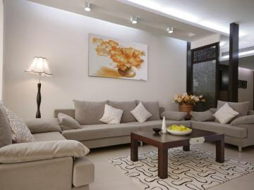 三居室装修-125平现代简约之家