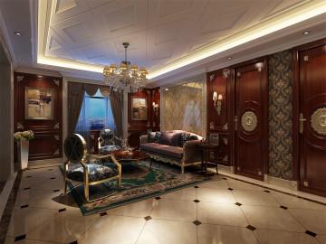 御涛园别墅装修美式风格设计