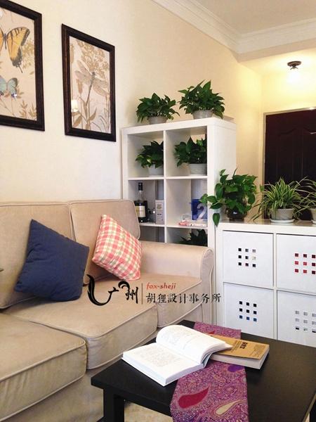客厅图片来自设计师胡狸在夏末.优雅的分享