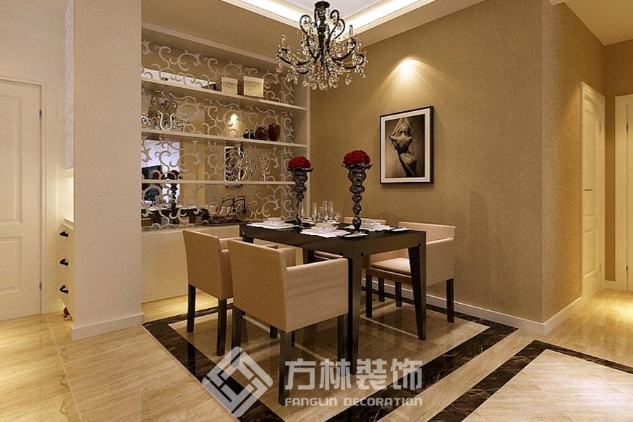 中海国际社 现代简约 餐厅图片来自方林装饰在中海国际社区130平现代简约风格的分享