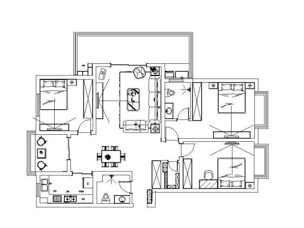 建业贰号城邦172平的装修方案