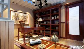 别墅 80后 新古典 书房图片来自深圳狼逸设计工作室在深圳/南山/花园古典欧式家居设计的分享