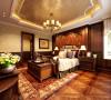 远洋岦宫-古典欧式-五居室