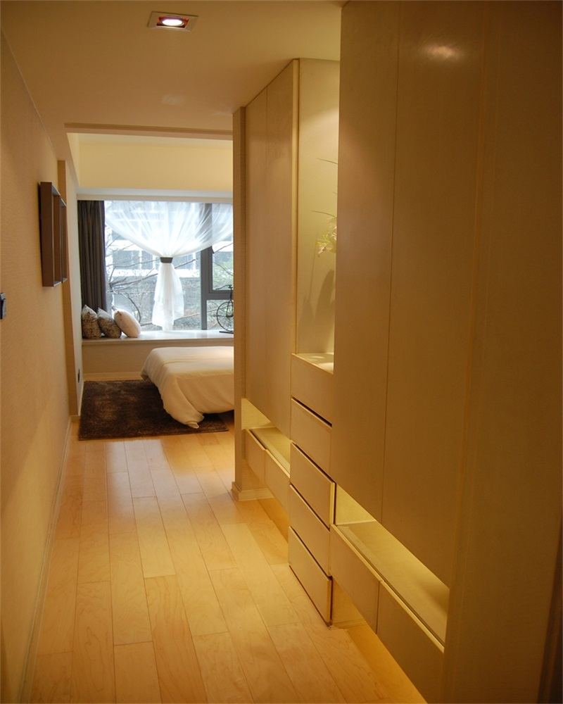 欧式 二居 卧室 储物柜图片来自上海蓝图空间在欧式逸静的分享