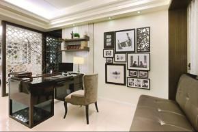 简约 混搭 四居室 80后 中式 港式 书房图片来自成都V2装饰在大气自然舒适好设计的分享