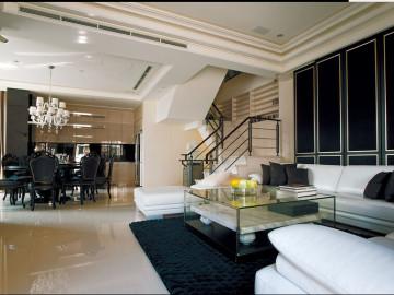 时尚古典魅力复式公寓